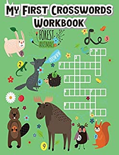 My First Crosswords Workbook: crossword puzzle with pictures