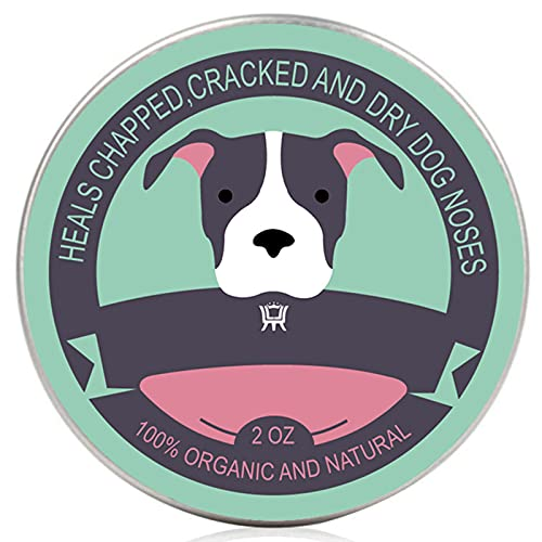 SLE Le baume régénérant Dog Paw Balm est 100% Naturel, utilisé pour Les Chiens et Les Chats, utilisé pour Traiter Les Pattes d'animaux Rugueuses, craquelées, sèches pour restaurer l'humidité (1pack)
