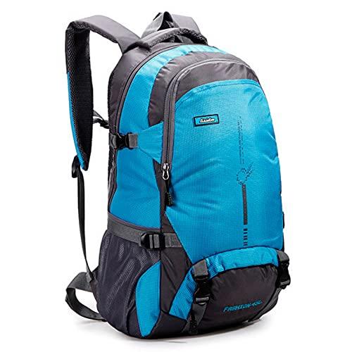 HOUJIA Zaino da Alpinismo 45L Zaino da Escursione Zaino Trekking Outdoor Multifunzione Zaino per Uomo Donna da Escursionismo Campeggio Viaggio Zaini