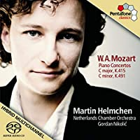Piano Concertos in C K415 & K491