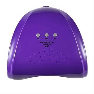 Máquina de fototerapia de uñas esmalte de uñas lámpara de terapia de luz de manicura de diamante