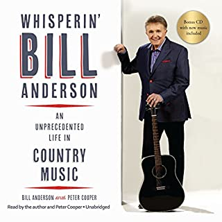Whisperin' Bill Anderson audiobook cover art