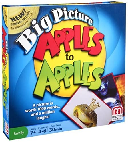 Big Picture Apples To Apples Game by Mattel