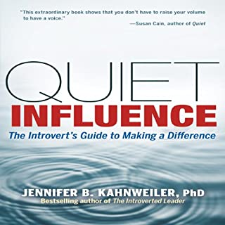 Quiet Influence audiobook cover art