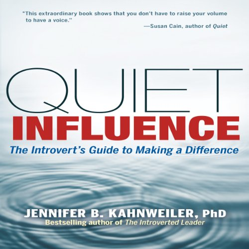 Quiet Influence audiobook cover art
