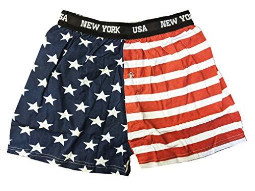 USA Flagge Boxershorts Stars & Stripes American New York - - Small