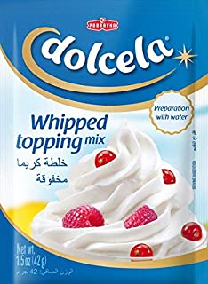 DOLCELA Whipped Topping Mix, 42g