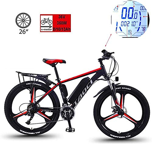 RDJM Bici electrica 26 pulgadas bicicleta eléctrica de litio energía de la...