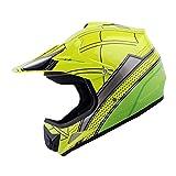 WOW Youth Kids Motocross BMX MX ATV Dirt Bike Helmet Green Camo