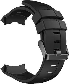 ZDL-ZNSB-001Watches Qw para Suunto Ambit3 Bandas de Reloj de Silicona Vertical, Ancho: 24 mm (Negro) ZDL-ZNSB-001Relojes, 34.00, Color Negro