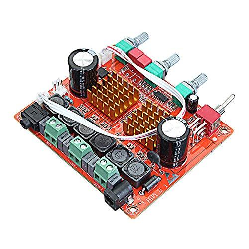 Módulo electrónico 200w 3 canal D Clase 2.1 Digital Power Amplificador Tablero...