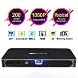 Best Android Projectors - Mini Projector WOWOTO A8 Pro 200 ANSI Lumen Review