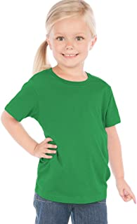 ! Toddlers Crew Neck Short Sleeve Tee Jersey (Same TJC0440)