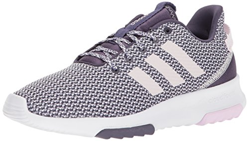 adidas NEO Women's CF Racer TR W Running Shoe, trace purple/orchid tint/aero pink, 6.5 M US