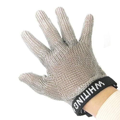 Schnittfeste Handschuhe-XHZ Kleidung Schneiden, Schlachten und Schneiden, Edelstahl Handschuhe, schnittsichere Handschuhe, Metallhandschuhe und Stahldraht Handschuhe (Size : Small)