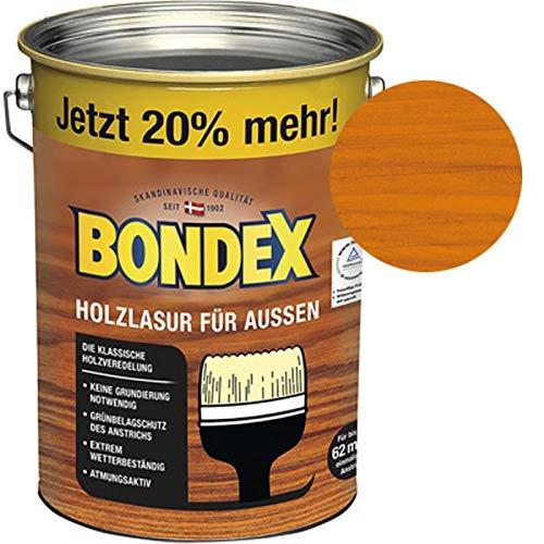 Bondex Holzlasur für Außen Oregon Pine/Honig 4,80 l - 329650