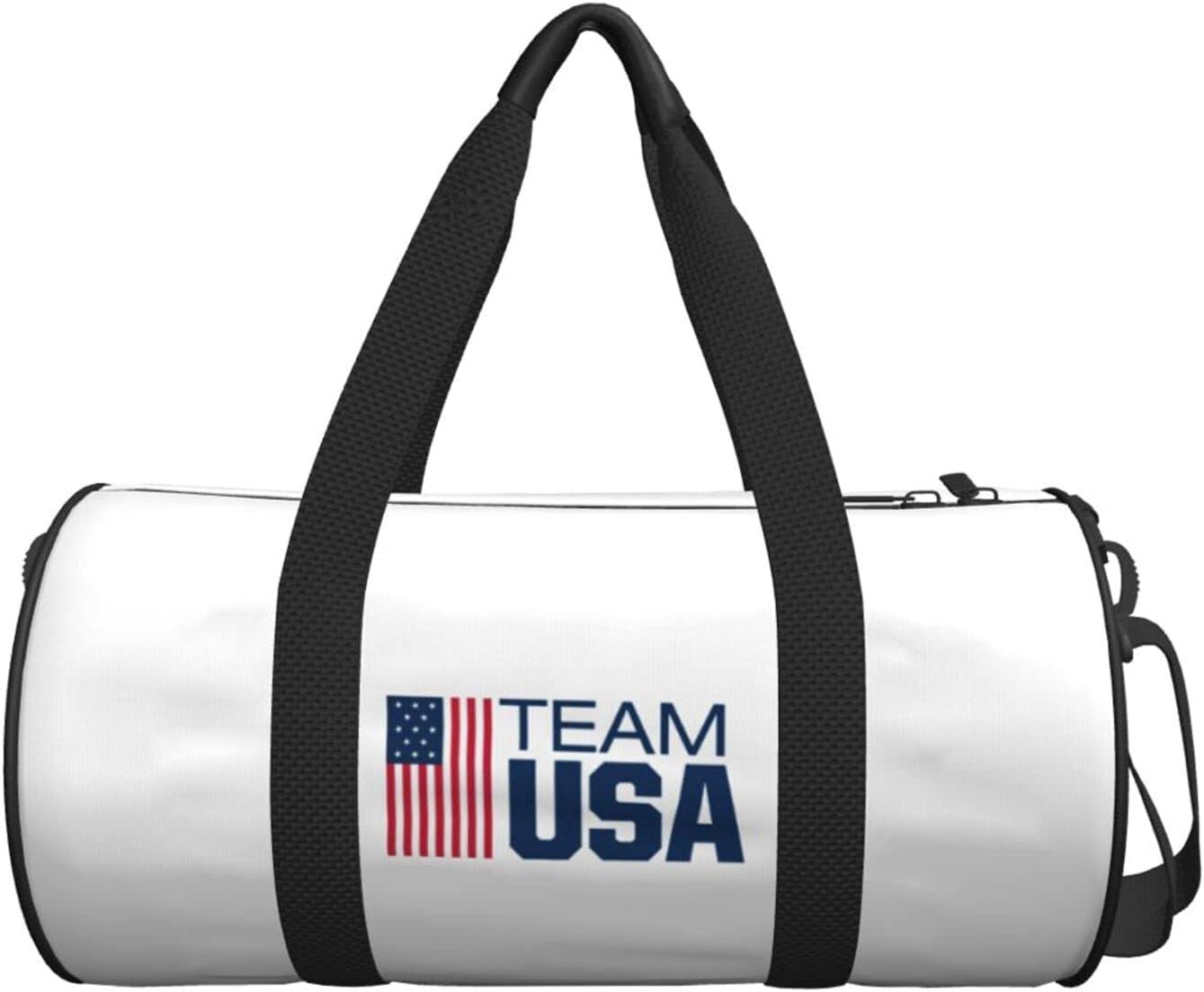 Unisex Usa Olympic Team High trend rank material Duffel Bag Gym Waterproo Lightweight