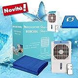 Dogshore Tapis / Matelas rafraîchissant et réfrigérant avec pompe à eau et ventilateur ioniseur (70x 180cm)