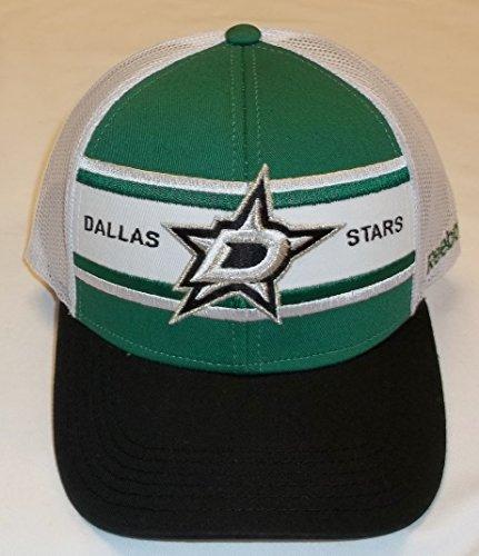 Reebok Dallas Stars NZM05 Snapback-Hut mit strukturierter Rückseite