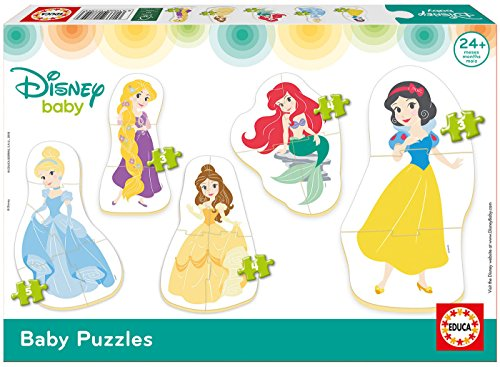 Educa Borrás- Disney Princess Baby Puzzles 17754