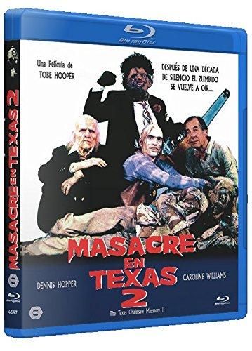 Masacre en Texas 2 BD 1986 The Texas Chainsaw Massacre Part 2 [Blu-ray]
