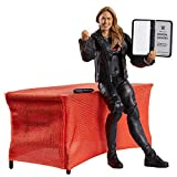 WWE Ronda Rousey Elite Collection Deluxe Action Figure with Realistic Facial Detailing, Iconic Ring Gear & Accessories
