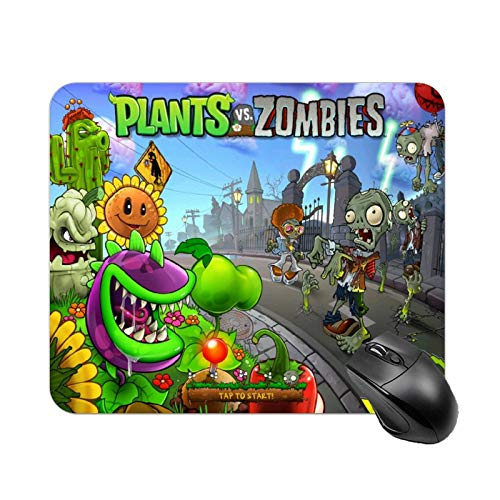 Multi-Size Plants Vs. Zombies Mouse pad Gaming Mouse pad Rubber Mouse Pads Waterproof and Non-Slip Mouse pad for Computer Laptop Home Office