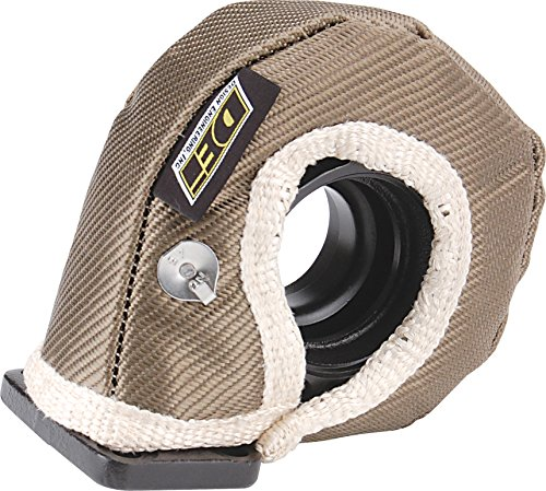 Design Engineering 010140 T3 Titanium Turbo Shield - Custom Fit Turbo Blanket, 19' x 2.5'