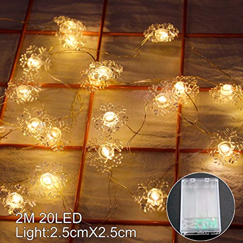 MHBY LED Lights. Santa Claus Christmas LED String Lights Garland Decoration Fairy Lights Christmas Decorations for Home Holiday Lighting Navidad | LED String.