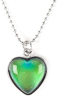 girls mood necklace