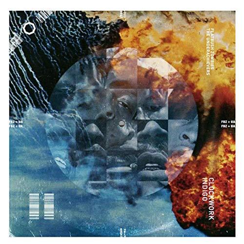 XiongDa Flatbush Zombies The Underachievers Clockwork Indigo Poster Album Decor Canvas Wall Picture Decoration Room -24X24 Inch No Frame