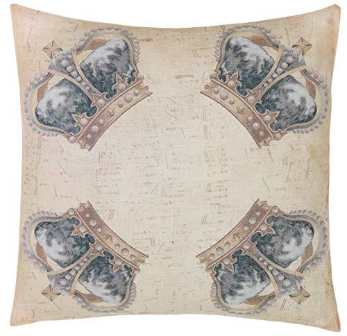 Blanc Mariclo Cojín para sofás Devota de algodón, 60 x 60 cm, A29767