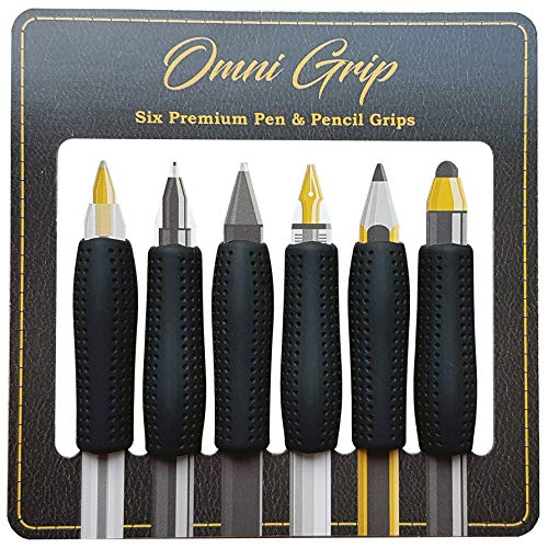 Omni Grip 6 Pack with Pen and Pencil Comfort Grips
