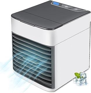 冷風機 小型冷風扇 軽音 扇風機 卓上冷風機 USB給電 ミニクーラー 3段階風量調節 防カビフィルター搭載 角度調整可能 コンパクト 省エネ 熱中症対策