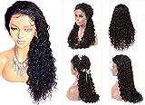 Best Brazilian Virgin Hairs - Brazilian Virgin Human Hair Wigs 13x6 Curly Lace Review