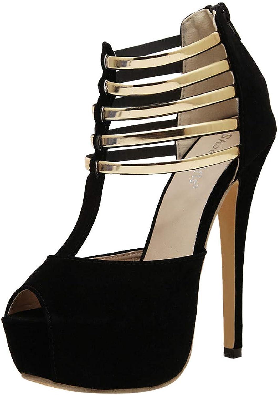 BOLUOYI 2019 High Heels for Women Women's Fashion Peep Toe High Heels Platforms Thin Heels Sandals Party shoes Sandals Womens Heel Wedge