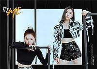 Fanstown KPOP 韓流 ITZY ミニアルバム 「IT'z ME」 樹脂コーティング A3ポスター (C03)