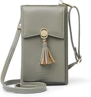 Small Crossbody Shoulder Phone Bag for Women, Lightweight Cellphone Purse Wallet for Travel