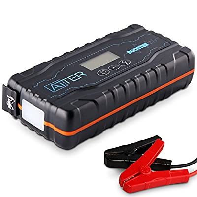 ATTER Jump Starter Portable | 400A 600A 1200A 2000A | Car and Boat | LED Flashlight | Power Bank