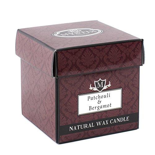 Mystix London Duftkerze Patchouli & Bergamotte, groß, 29 cl