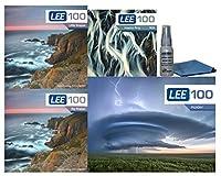 LEE Filters LEE100 72mm プレミアム ロング 露出キット - Lee Filters LEE100 フィルターホルダー LEE 100mm 大小ストッパー 72mm 広角アダプターリング