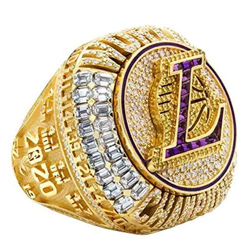 2020 Los Angeles Lakers LA James championship anillo de la NBA anillo de oro del campeonato - Diámetro 22,1 MM circunferencia 71,6 MM