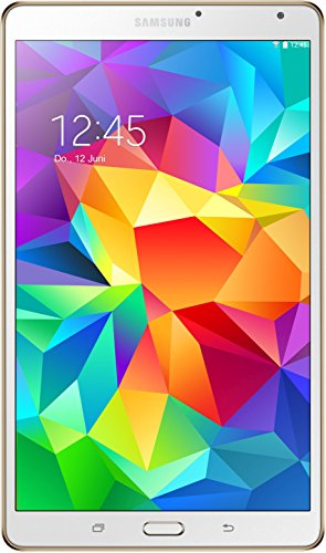 Samsung Galaxy Tab S 21,34 cm (8,4 Zoll) WiFi-Tablet-PC (Quad-Core, 1,9GHz, 3GB RAM, 16GB interner Speicher, Android) weiß