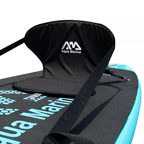 Aquamarina Unisex– Erwachsene Extra Seat Sup Zubehör, Schwarz, Uni - 3