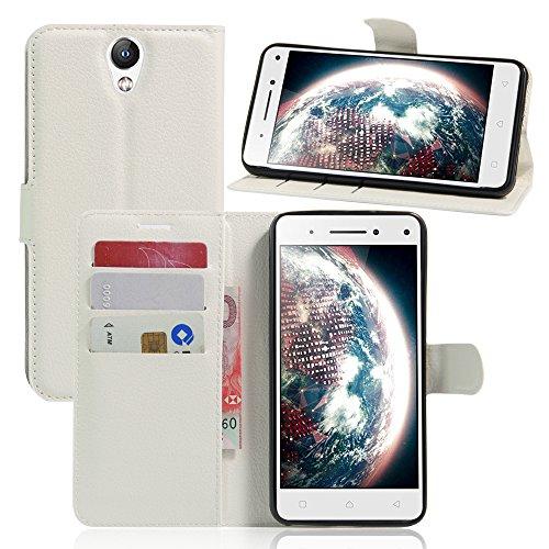 Litao-Case CN Hülle für Lenovo Vibe S1 Lite hülle Flip Leder + TPU Silikon Fixierh Schutzhülle Case 7