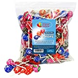 Tootsie Pops - 4 Pounds - Large Tootsie Roll Pops - Assorted Flavored Lollipops, Bulk Candy, Party Bag Family Size