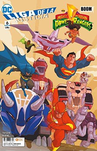 Liga de la Justicia/Power Rangers núm. 06 (de 6)