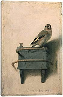 iCanvasART The The Goldfinch, 1654 Print, 12