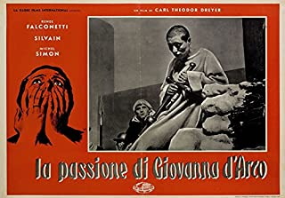The Passion of Joan of Arc R1959 Italian Fotobusta Poster