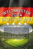 empireposter Fußball - Deutschland Weltmeister 2014 -